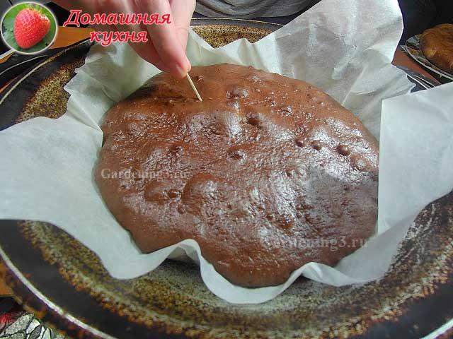 готовым корж для торта