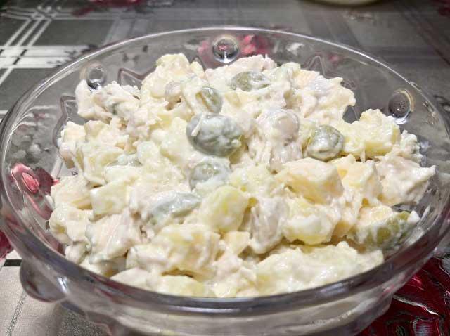 рецепт салата с оливками
