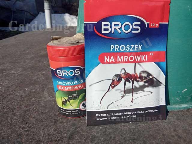 препарат от муравьев